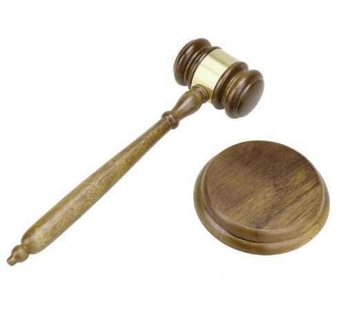 Молоток судьи, директору, руководителю деревянный