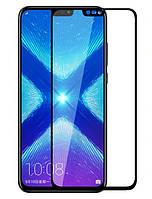 Защитное стекло Silk Screen для Huawei Honor 8X тех.пакет (Black)
