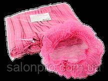 Шапочка-берет Monaco, упаковка 100 шт., цвет розовый
