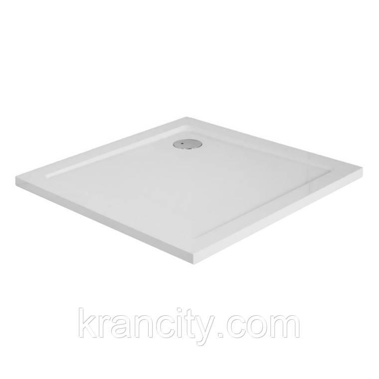 Поддон EGER SMC 900*900*35 квадратный (литой камень)
