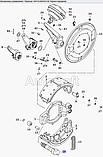 Кулак разжимной задній правий 5320-3502110-10 (пр-во КАМАЗ), фото 3