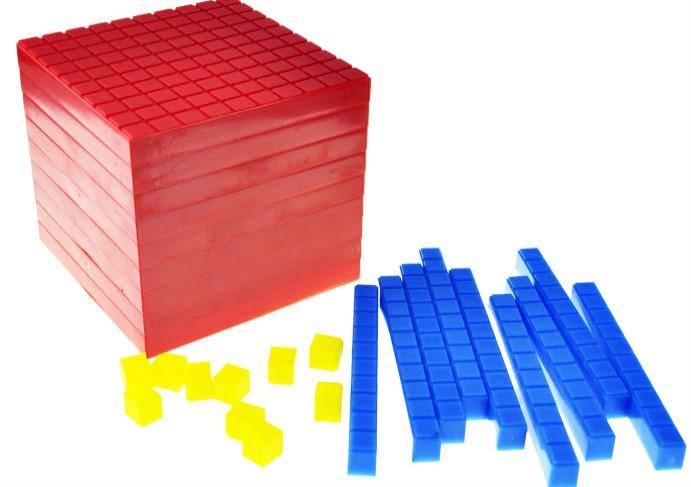 """Набір """"Одиниці об'єму"""" (математичний куб, пластик)"""