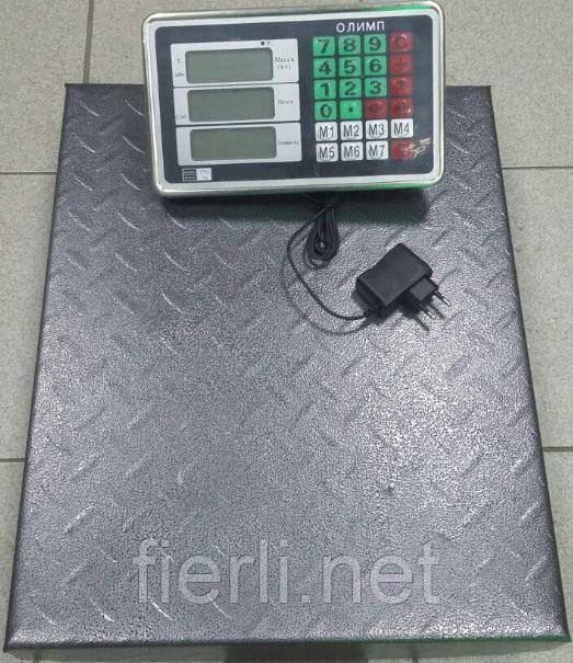 Товарные весы Олимп TCS-102 С (300 кг).450х600 мм.