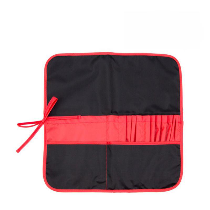 Пенал для кистей, ткань Rosa Studio 37*37 см./черный+красный/
