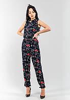 Стильный летний женский комбинезон Modniy Oazis черный 90231, фото 1