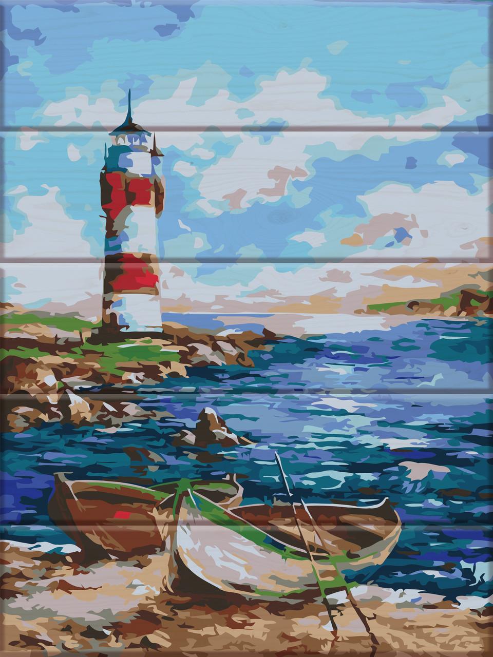Картина по номерам Маяк, 30x40 см., Art Story