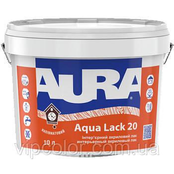 Aura Aqua Lack 20 10л акриловий лак для внутрішніх робіт арт.4820166521739