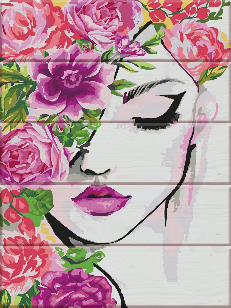 Картина по номерам Флора, 30x40 см., Art Story