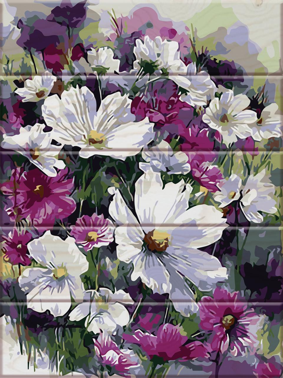 Картина по номерам Садові квіти, 30x40 см., Art Story