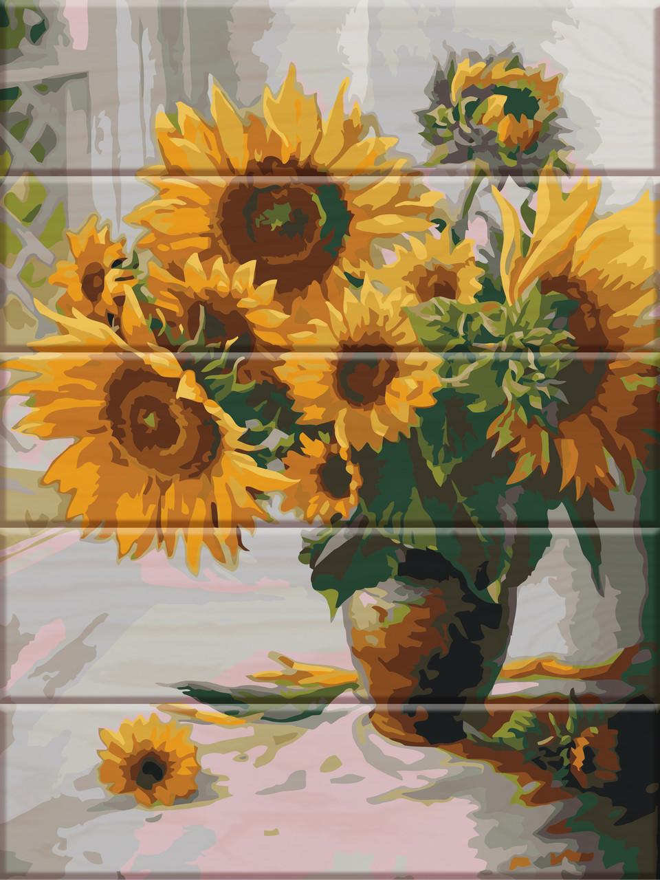 Картина по номерам Соняшники, 30x40 см., Art Story