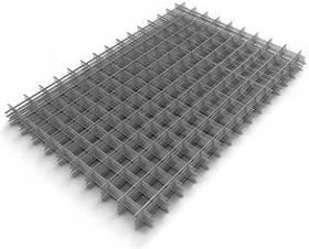 Сетка сварная (кладочная) ячейка 50х50 мм, размер 1х2 м, проволока 4 мм