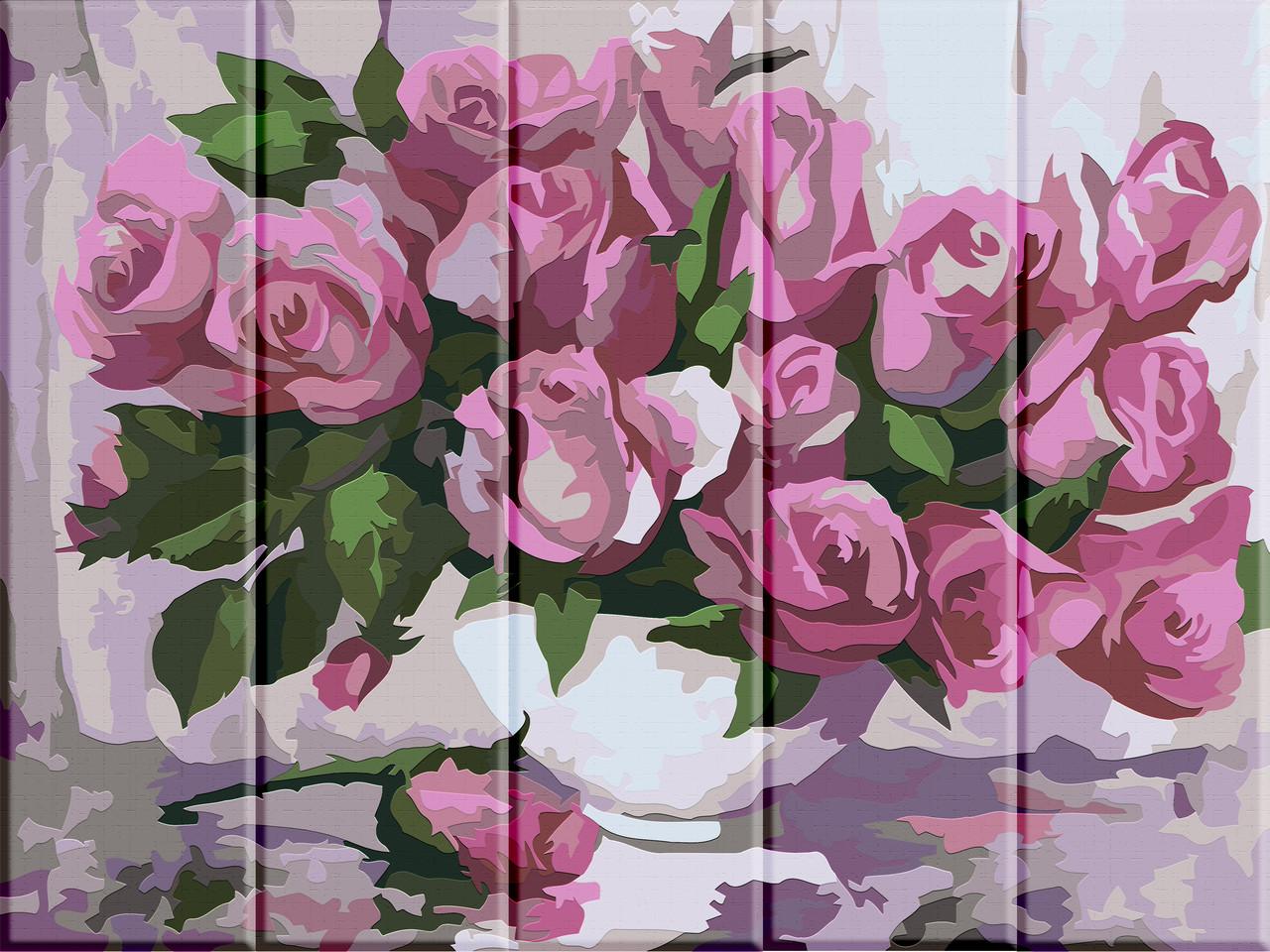 Картина по номерам Троянди, 30x40 см., Art Story