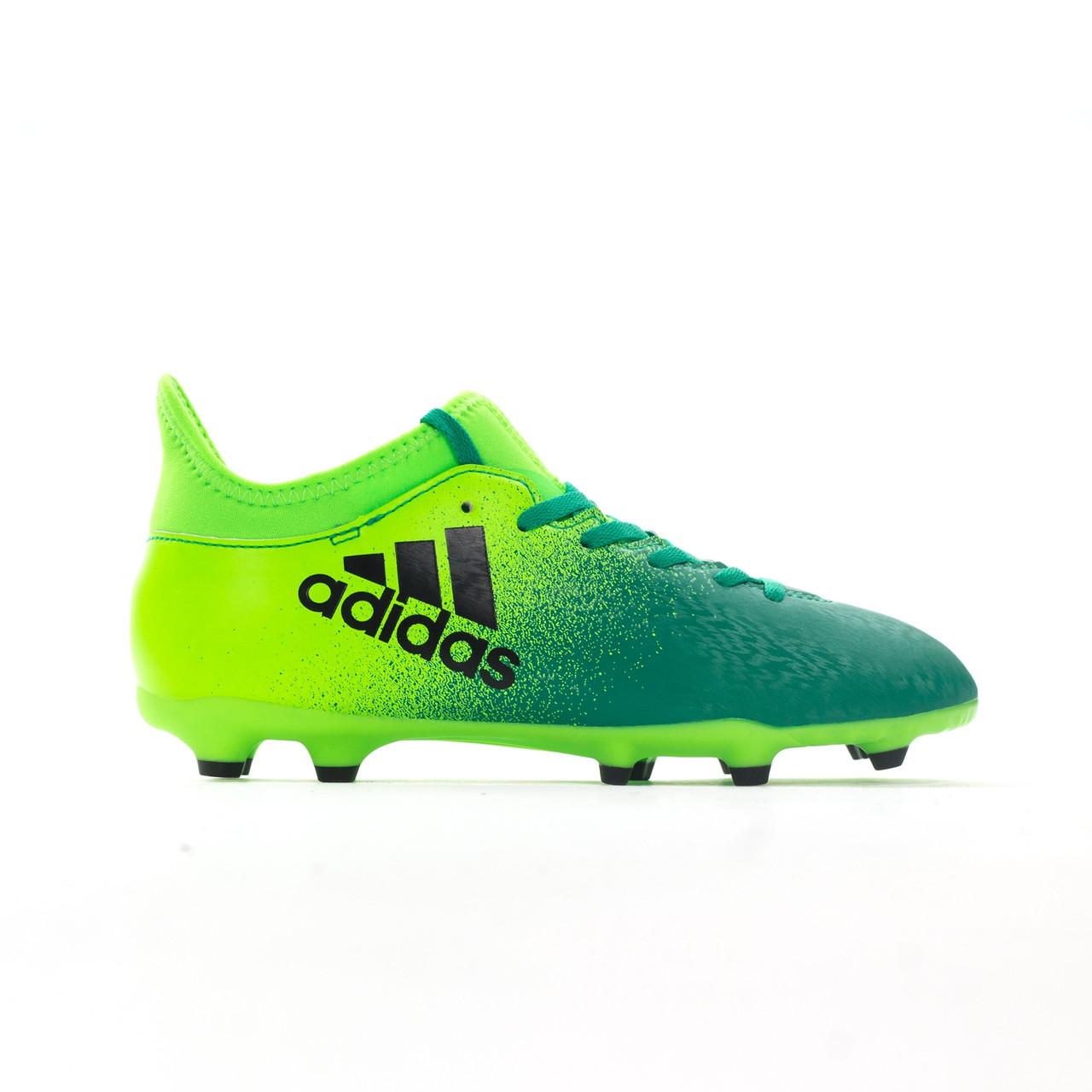 Детские футбольные бутсы Adidas X 16.3 FG J - Оригинал (BB5859)