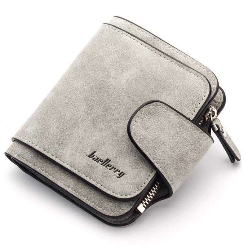 Маленький женский кошелёк Baellerry  серый опт