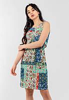 Легке жіноче плаття на гумці Modniy Oazis зелений 90237/2, фото 1