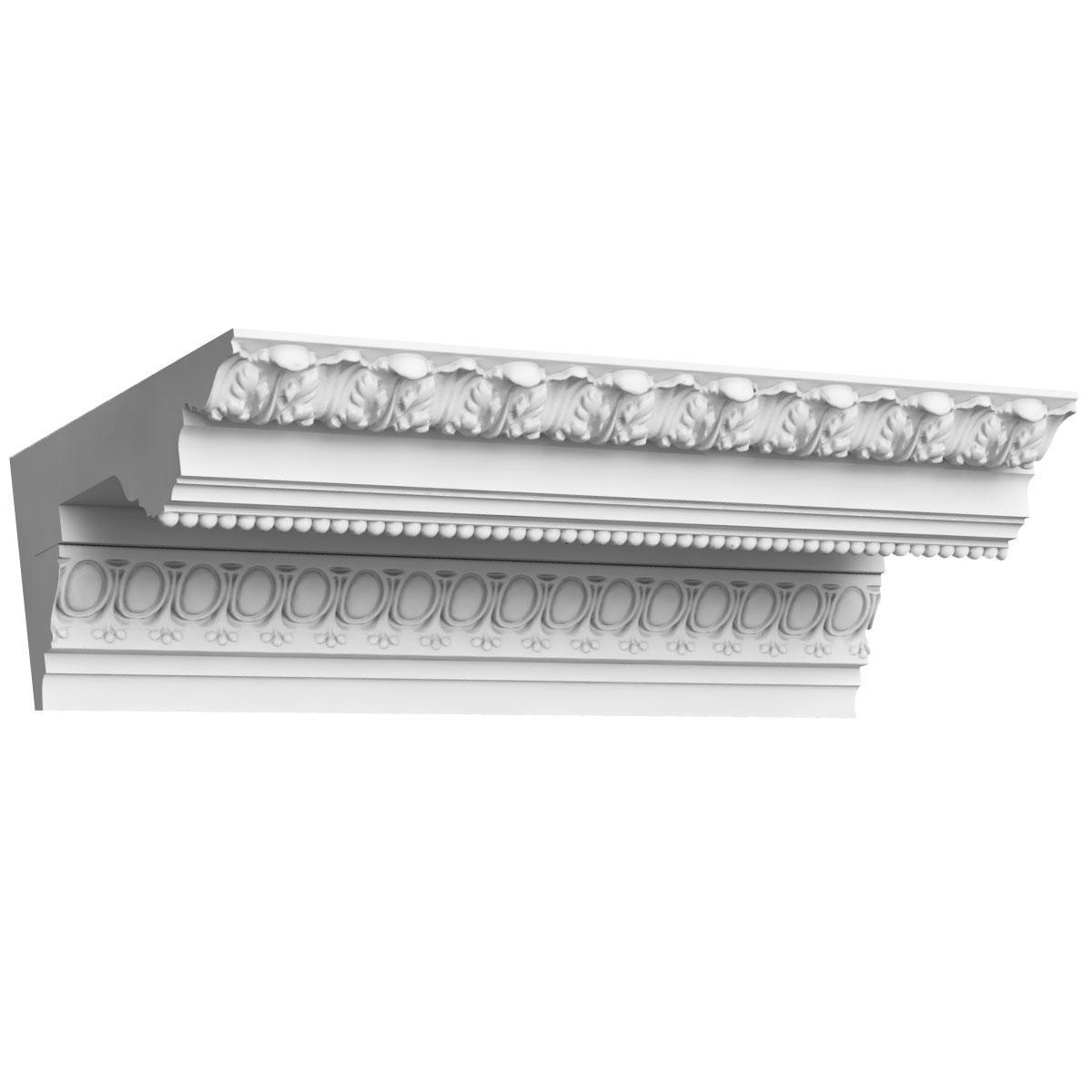 Потолочный карниз К-90 из бетона