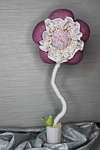 Топиарий цветочек  ручной работы индивидуальный дизайн