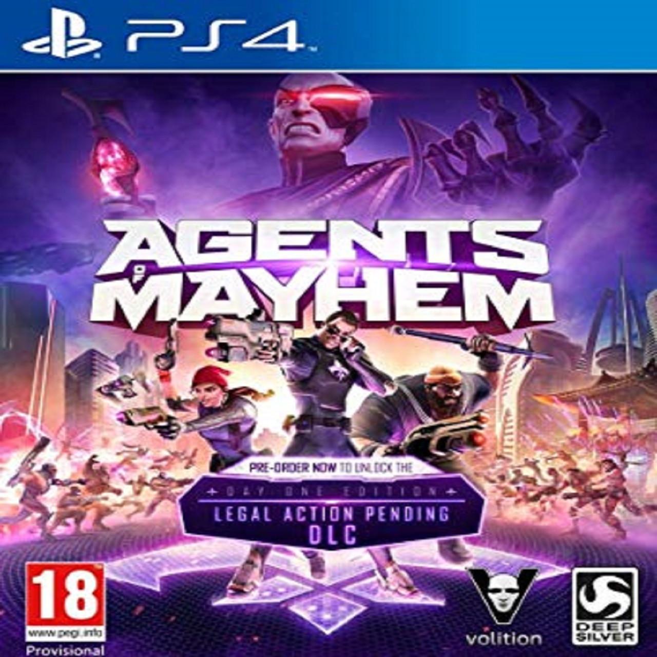 Agents of Mayhem ENG PS4 (NEW)