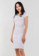 Утонченное классическое женское платье до колен 90239/1, фото 1