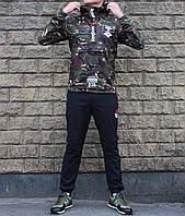 db35f3f773d3e1 Спортивный костюм анорак Reebok CrossFit с капюшоном камуфляж 54 размер  (Реплика)