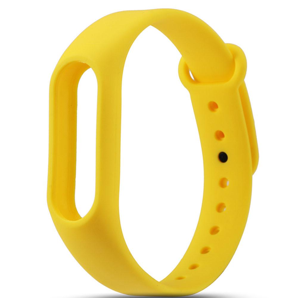 Ремешок для браслета Xiaomi Mi Band 2 Желтый