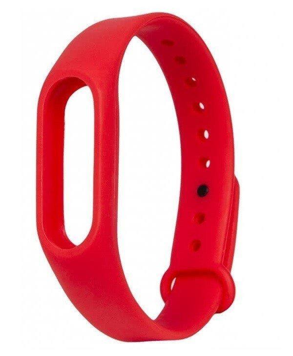 Ремешок для браслета Xiaomi Mi Band 2 Красный