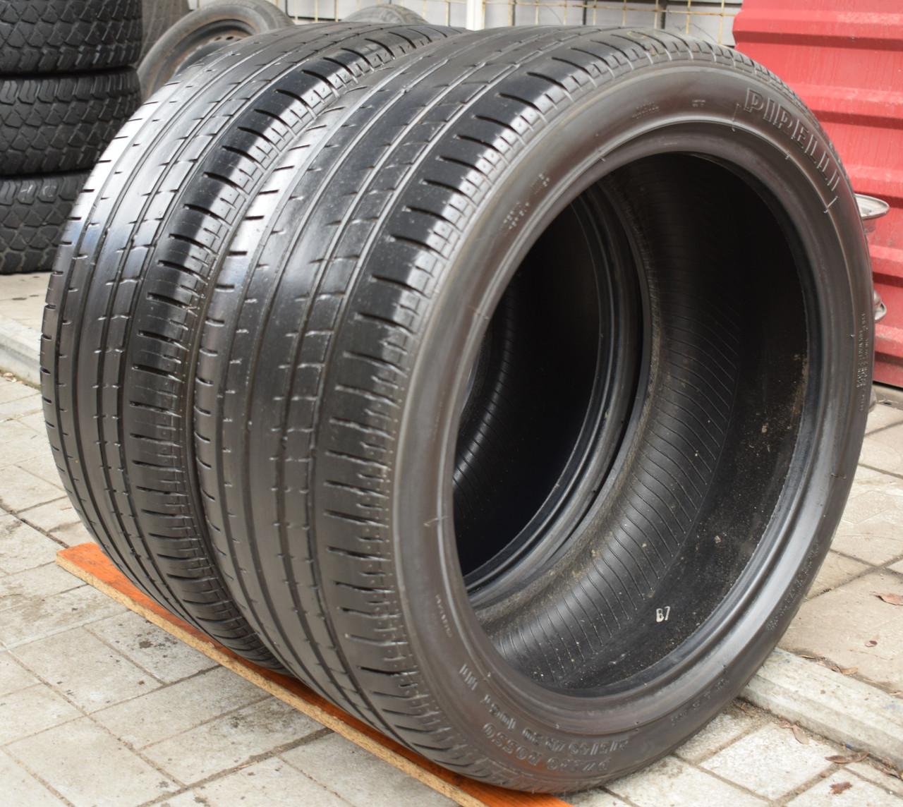Шины б/у 275/40 R 20 Pirelli PZero Rosso, ЛЕТО, 5 мм, пара