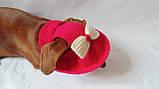 Летняя шапка для маленьких собак и котов,панамка для таксы, фото 4