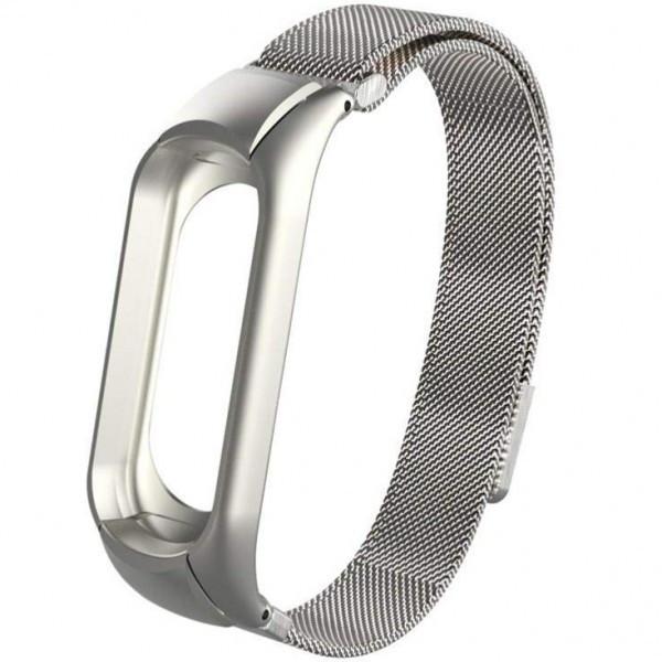 Ремешок на фитнес браслет M2 Metal Silver