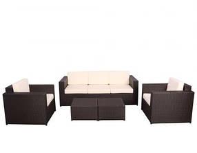 Комплект мебели Santo из ротанга Elit Коричневый (AMF-ТМ)
