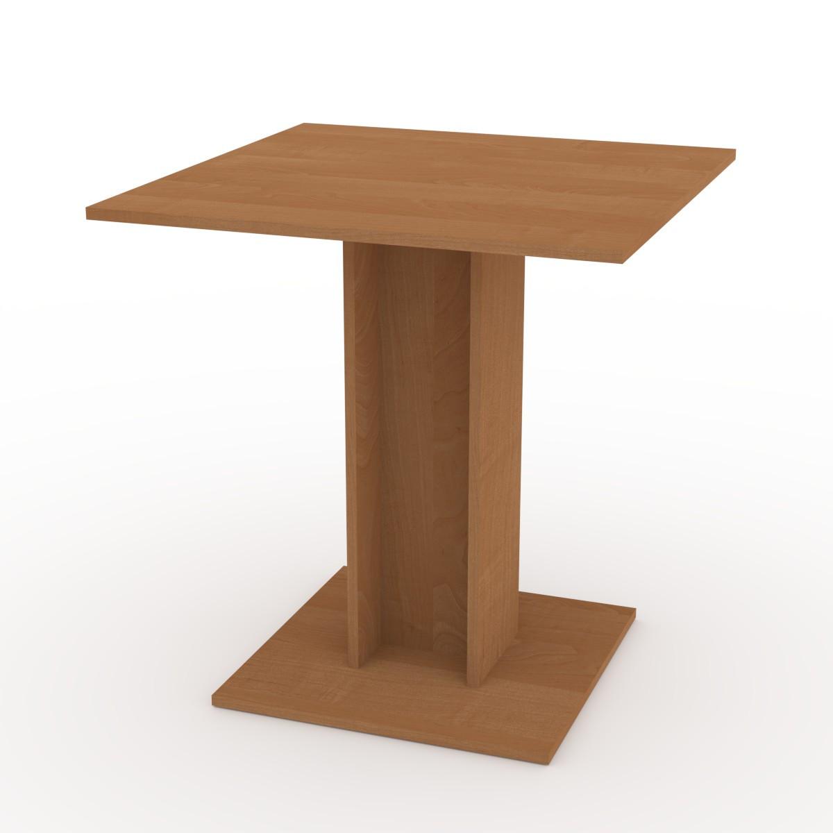 Стол кухонный КС-7 ольха Компанит (70х70х74 см)