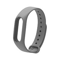 Ремешок для браслета Xiaomi Mi Band 2 Серый