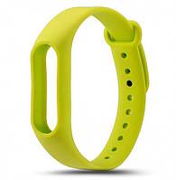 Ремешок для браслета Xiaomi Mi Band 2 green