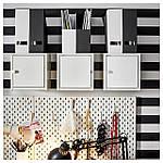 IKEA TJENA Подставка для журналов, Черное  (003.954.74), фото 2