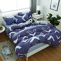 Комплекты постельного белья Геометрический узор (двуспальный-евро) Berni