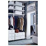 IKEA KUGGIS Коробка с крышкой, белый  (102.802.03), фото 8