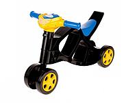 Детский мотоцикл мини байк беговел без звука 55СМ Х 45СМ Х 31СМ (Толокар)