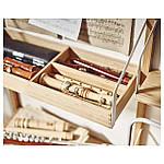 IKEA SVALNAS Пристенный стол, бамбук, белый  (191.844.62), фото 5