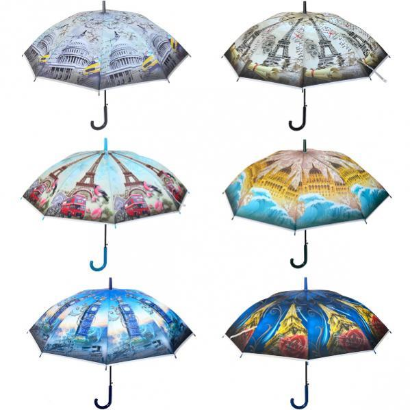Зонтик - трость, города