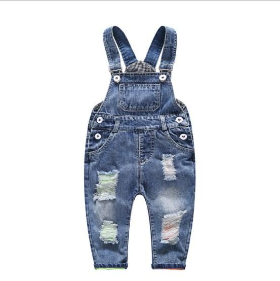 Детский джинсовый комбинезон 73
