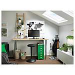 IKEA NILSERIK Рабочий стул, черный, виссле черный  (303.499.56), фото 8