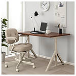 IKEA IDASEN Стол, коричневый, бежевый  (392.810.18), фото 2