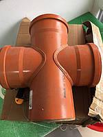 Крестовина ПВХ для наружной канализации 160/160/90 , фото 1