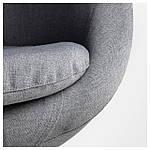 IKEA SKRUVSTA Рабочий стул, Виссле серый  (302.800.04), фото 5