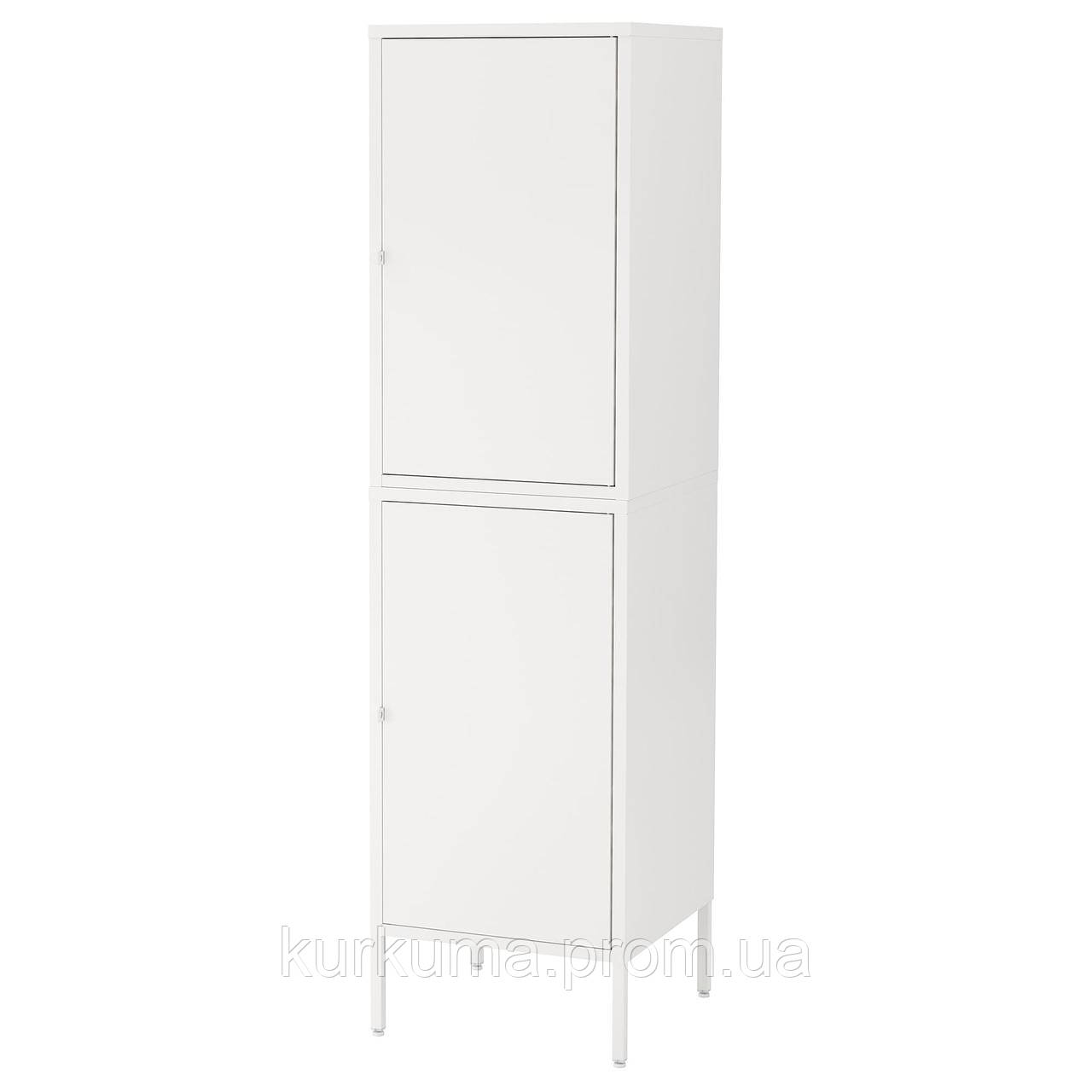 IKEA HALLAN Шкаф с дверями, белый  (892.494.03)