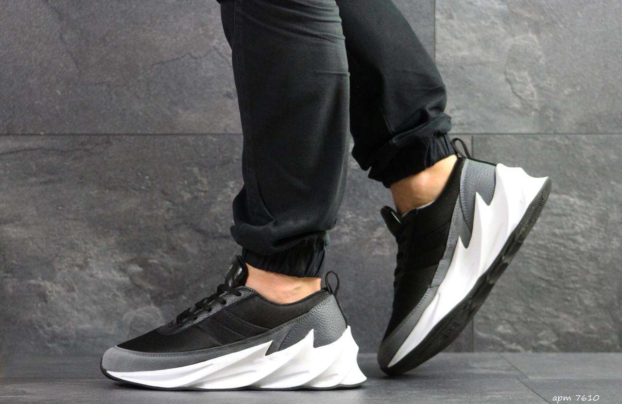 62fccf6228730b Чоловічі кросівки Adidas Sharks, сірі з білим - BEST-CROSS в Хмельницком