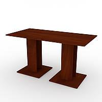Стол кухонный КС-8 яблоня Компанит (140х70х74 см)