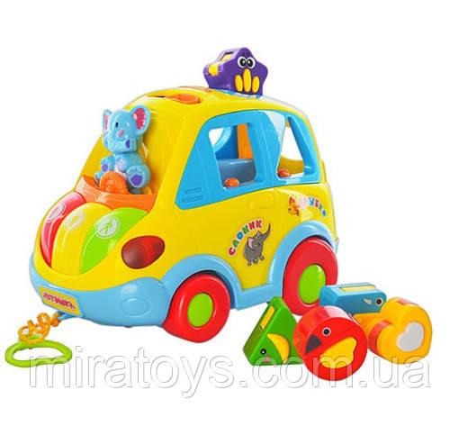 Развивающая игрушка сортер Автошка 9198