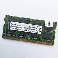 Оперативная память для ноутбука Kingston SODIMM DDR3L 8Gb 1600MHz 12800S CL11 (KCP3L16SD8/8) Б/У, фото 1