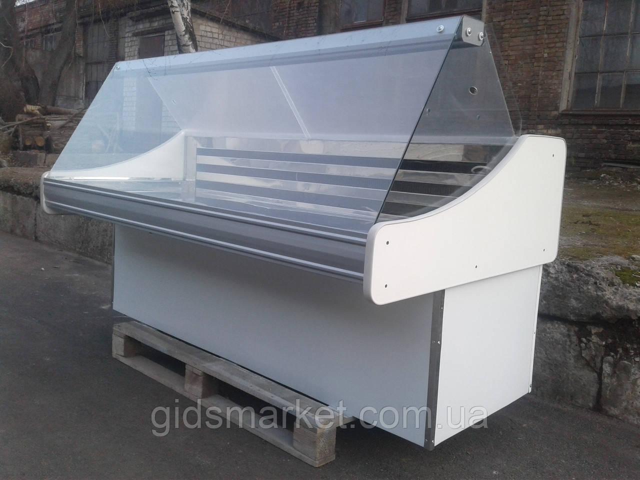 Холодильная витрина Технохолод б/у, Холодильный гастрономический прилавок 1,8 м. б/у, Гастрономическая витрина